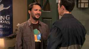 The Big Bang Theory - Wil Wheaton is Too Good [Video]