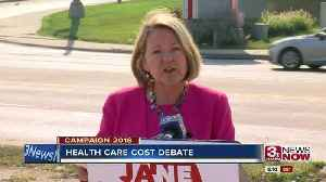 Candidate Raybould calls for improvements in healthcare coverage [Video]
