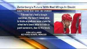 Zetterberg's future with Red Wings in doubt [Video]