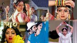 Sridevi's 10 songs that will always Stay with us | Sridevi Top 10 Songs | FilmiBeat [Video]