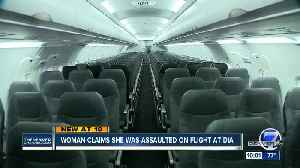 Woman says she was assaulted trying to get off United flight at DIA [Video]