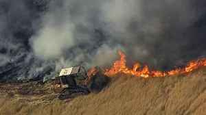 Grass Fire Burns 1,000 Acres, Forces Evacuations in Fairfield, Vacaville [Video]