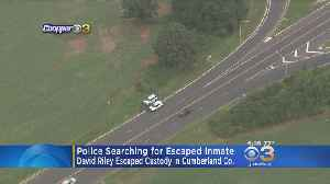 New Jersey State Police Looking For Inmate Who Escaped From Cumberland County Jail [Video]