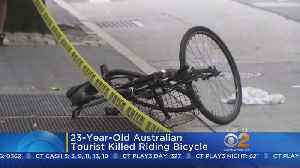 News video: Garbage Truck Driver Facing DWI Charges After Death Of Bicyclist
