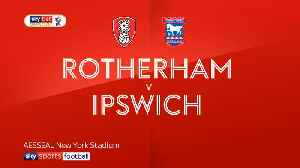 Rotherham 1-0 Ipswich [Video]