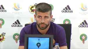 Pique confirms not returning to Spain team [Video]