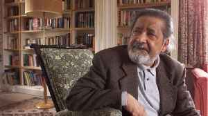 News video: Nobel Winning Author V.S. Naipaul Dies Aged 85