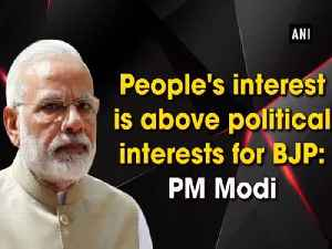 People's interest is above political interests for BJP: PM Modi [Video]