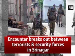 Encounter breaks out between terrorists & security forces in Srinagar [Video]