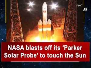 News video: NASA blasts off its 'Parker Solar Probe' to touch the Sun