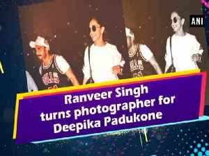 Ranveer Singh turns photographer for Deepika Padukone [Video]