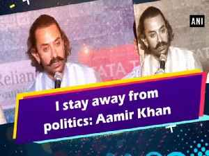 I stay away from politics: Aamir Khan [Video]