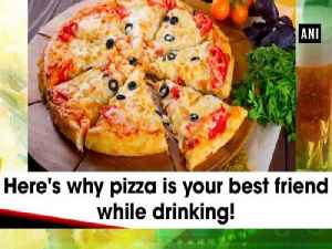 Here's why pizza is your best friend while drinking! [Video]
