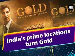 India's prime locations turn Gold [Video]