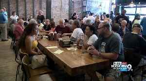 New downtown brewery celebrates grand opening [Video]