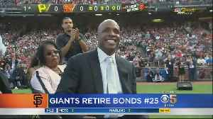 BONDS NUMBER RETIREMENT: Baseball legend Willie Mays makes plea to include Barry Bonds in baseball Hall of Fame [Video]