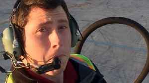Family's shock after man 'steals' plane [Video]