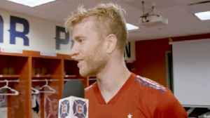 De Leeuw on his return: 'this is what I worked towards for ten months' [Video]