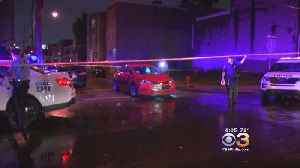 Police: Neighbor Witnesses Aftermath Of Shooting That Left Man, Woman Hospitalized In North Philly [Video]