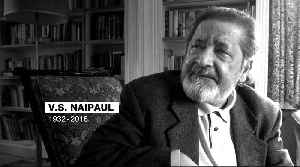 VS Naipaul, Nobel Prize-winning author, dies at 85 [Video]