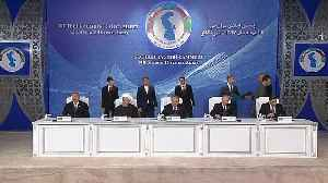 News video: Caspian nations agree on division of oil and gas spoils