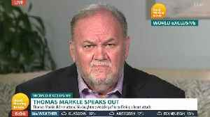 Thomas Markle Gives Interview Detailing Heated Phone Call With Prince Harry [Video]