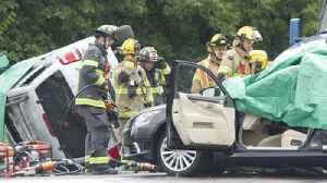WATCH: Lehigh County Coroner responds to fatal multi-vehicle crash in Upper Saucon Twp. [Video]