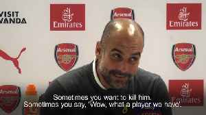 Pep Guardiola on Benjamin Mendy: 'Sometimes you want to kill him' [Video]