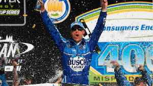 Kevin Harvick Claims Seventh NASCAR Win of 2018 [Video]