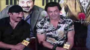 I AM SLAPPED! Bobby Deol share his childhood memories with Sunny Deol [Video]