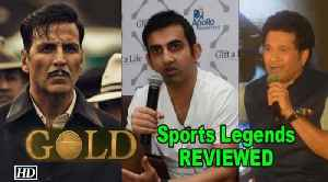 "Akshay's ""GOLD"" REVIEWED by Sports Legends FIRST [Video]"