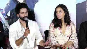 Shahid Kapoor On Wife Mira Rajput's Bollywood Entry | Batti Gul Meter Chalu Trailer Launch [Video]