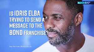 Is Idris Elba hinting at Bond producers to hire him? [Video]