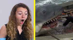 These People Have Never Seen 'Jaws' [Video]