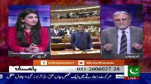 Nusrat Javed Response On Nawaz Sharif's Apperance In Court.. [Video]