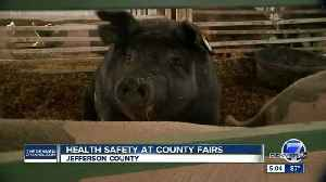 Salmonella cases linked to Arapahoe County Fair rise to 9; officials encourage health safety [Video]
