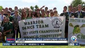 Jupiter High honors state champs [Video]