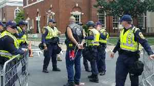 Police Arrest Charlottesville Protesters Following Altercation [Video]