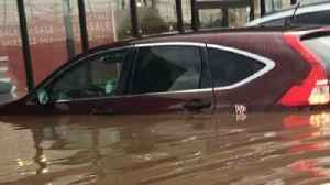 New Jersey Flash Flood Swamps Cars, Stores [Video]