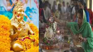 Lord Shiva Devotees throng to temples on 3rd Monday of 'Sawan' | Oneindia News [Video]