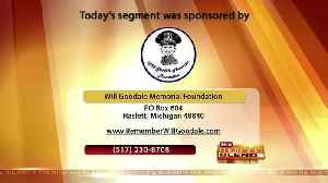 Will Goodale Memorial Foundation - 8/13/18 [Video]