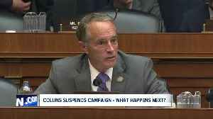 What happens now that Congressman Chris Collins has suspended his campaign? [Video]
