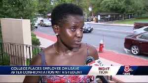 College employee on leave for calling cops on black student [Video]