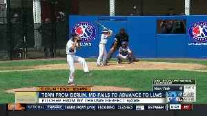 Tournament runs end for Maryland youth baseball teams [Video]