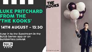 LIVE from London: Luke Pritchard, from The Kooks [Video]