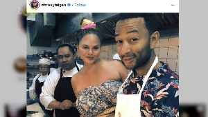 Chrissy Teigen Makes a Snail Famous...Yes, a Snail! [Video]