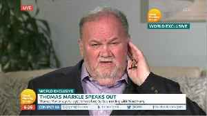 Royal Attempt To Silence Thomas Markle Isn't Working [Video]
