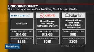Unicorn Elite of Silicon Valley Hold $60 Billion of Untapped Wealth [Video]