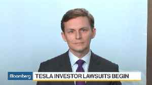Tesla Shareholders Launch Class-Action Suit on Musk Tweet Aftermath [Video]