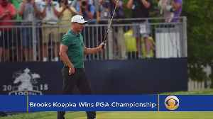 News video: This Week In Golf: Koepka Wins PGA Championship
